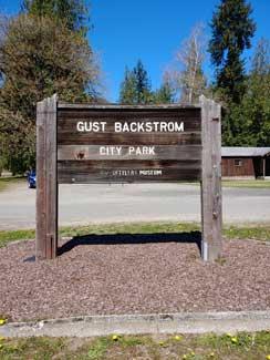 Gust Backstrom Park